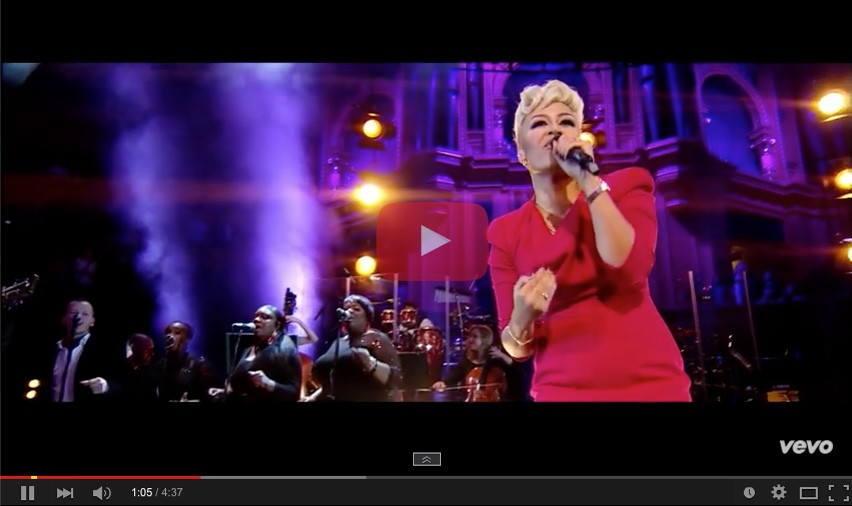 Emeli Sande – Live at the Albert Hall (stylist)