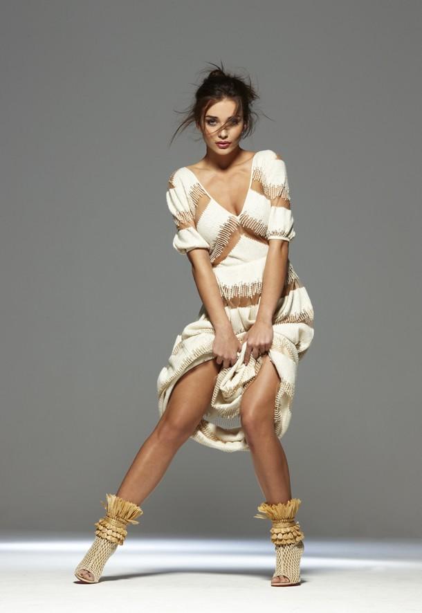 Photographer John Swannell | Fashion Stylist Hollie Lacayo | Model Amy Jackson