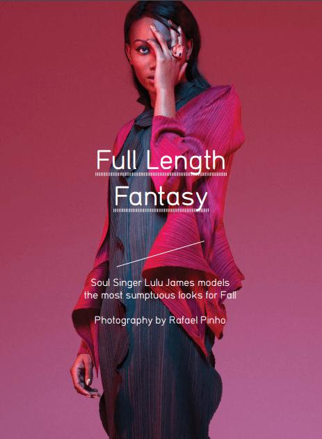 Materialist Magazine   Photographer Rafeal Pinho   Fashion Stylist Hollie Lacayo   Model Lulu James