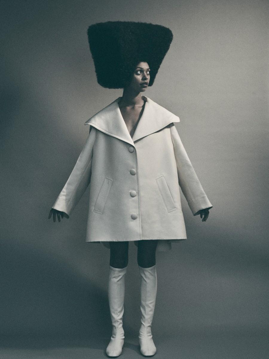 Lanvin coat and boots